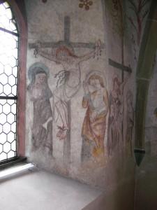 Jesus am Kreus auf Golgatha