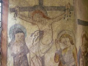 Maria und Johannes beweinen Jesus