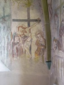 Jesus wird vom Kreuz abgenommen A