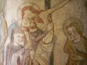 Josef aus Arimathäa nimmt Jesu Leichnam auf.