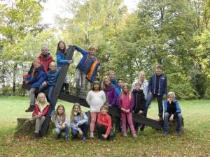 Gruppenfoto Herbstfreizeit 2015
