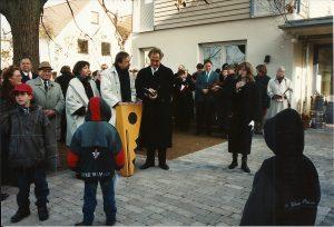 Einweihung am 1. Advent 1995