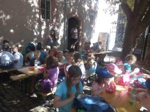 Kinder der Sommeraktion Kinderferienkirche