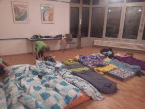 Übernachtungsplatz der Sommeraktion Kinderferienkirche