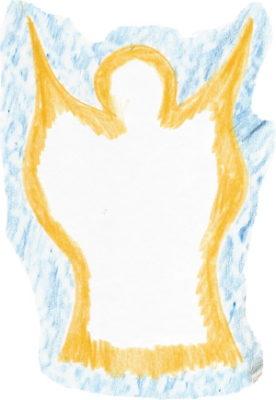 Engel - gestaltet von Frauke Manske