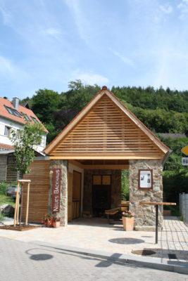 Neues Backhaus in Stettbach
