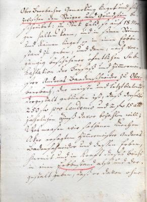 Erbleihbrief 1772, Seite 2