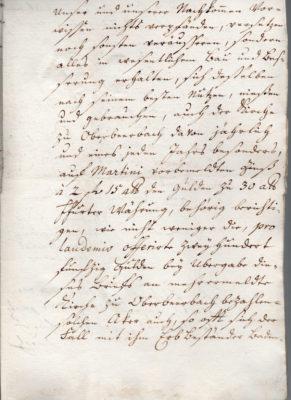 Erbleihbrief 1772, Seite 3