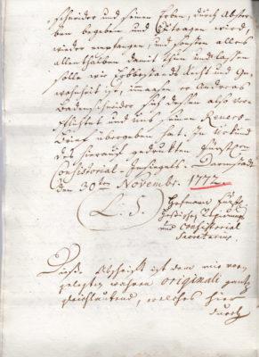 Erbleihbrief 1772, Seite 4
