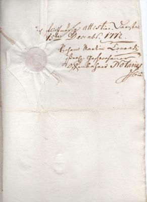 Erbleihbrief 1772, Seite 5